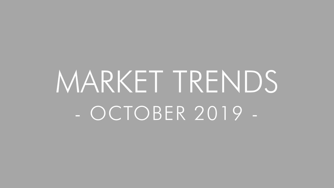 2019 October Real Estate and Mortgage Trends – San Diego, CA