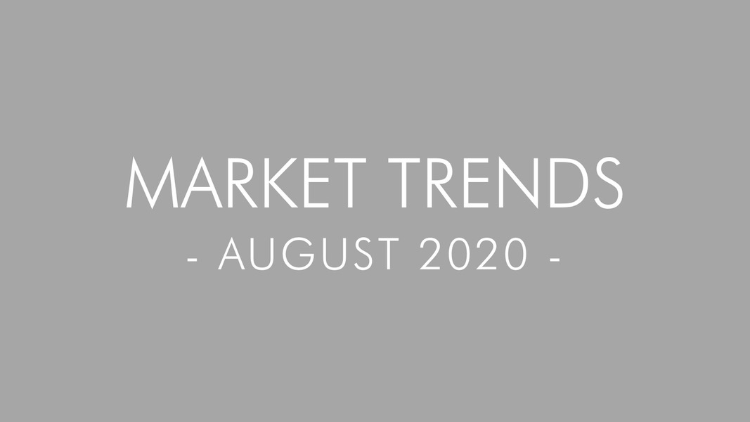 2020 August Real Estate and Mortgage Trends – San Diego, California