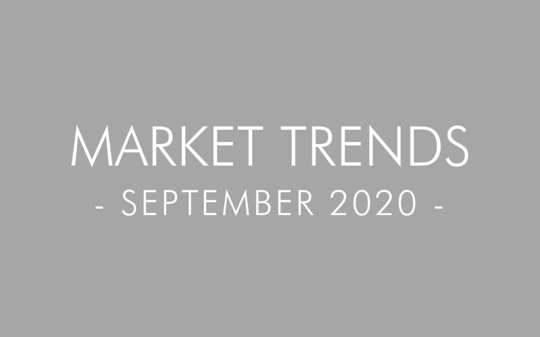 2020 September Real Estate and Mortgage Trends – San Diego, California