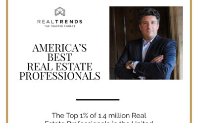 Ranked as America's Best Real Estate Professional – WSJ